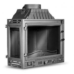 KAWMET Wkład kominkowy Retro-W4-Lewy 14,5 kW