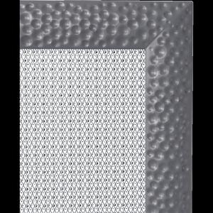 KRATKA kominkowa Venus 11x17 grafitowa