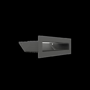 Kratka kominkowa LUFT grafitowy 6x20