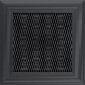 KRATKA kominkowa OSKAR 17x17 grafitowa