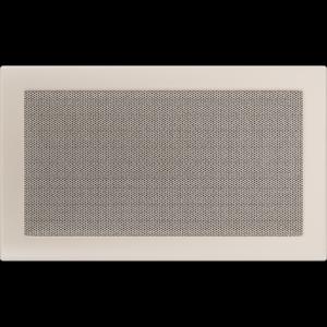 KRATKA kominkowa 22x37 kremowa małe oko