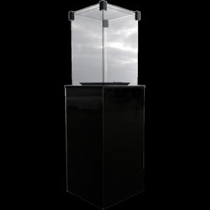OGRZEWACZ GAZOWY PATIO M panel czarny