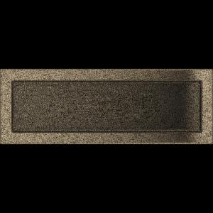 KRATKA kominkowa 17x49 czarno-złota