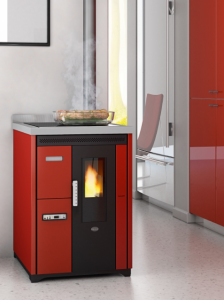 NINA 7,5 kW - kuchnia wolnostojąca