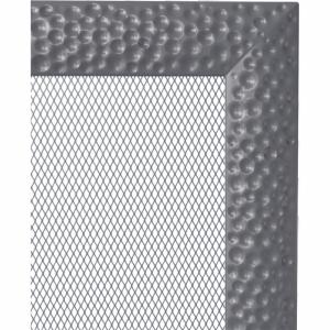 KRATKA kominkowa Venus 17x30 grafitowa