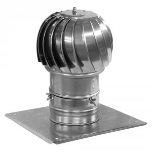 Nasada kominowa Turboflex max aluminiowy 150mm