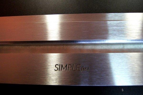 SIMPLE FIRE FIREBOX 1200 z szybą