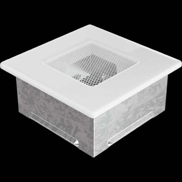 KRATKA kominkowa 11x11 biała