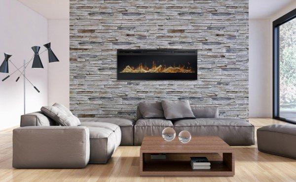 Dekoracyjny zestaw otoczaków i drewna 50