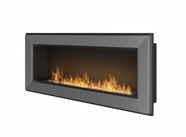 SIMPLE FIRE FRAME 1200 INOX