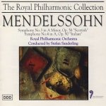 Mendelssohn, Royal Philharmonic Orchestra, Stefan Sanderling - Symphony No. 3 In A Minor, Op. 56 Scottish / Symphony No. 4 In A, Op. 90 Italian (CD)