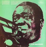 Louis Armstrong - Live Recording (LP)