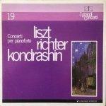 Liszt, Richter, Kondrashin - Concerti Per Pianoforte (LP)