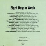 Hits 60-70 - Eight Days A Week (CD)