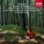 Vivaldi & Anne-Sophie Mutter & Herbert Von Karajan & Wiener Philharmoniker - Le Quattro Stagioni / The Four Seasons / Die Vier Jahreszeiten (CD)