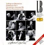 Ludwig van Beethoven, Wiener Philharmoniker, Leonard Bernstein - Symphonie Nr. 5, Ouvertüre Leonore III (CD)