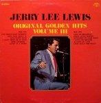 Jerry Lee Lewis - Original Golden Hits Volume III (LP)