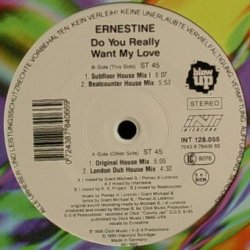 Ernestine - Do You Really Want My Love (12'')