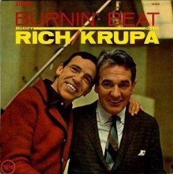 Buddy Rich / Gene Krupa - Burnin' Beat (LP)