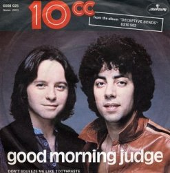 10cc - Good Morning Judge (7'')