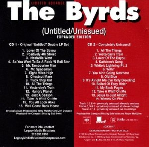 The Byrds - (Untitled/Unissued) (2CD)