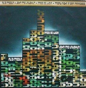 Al Di Meola / John McLaughlin / Paco De Lucia - Friday Night In San Francisco (LP)