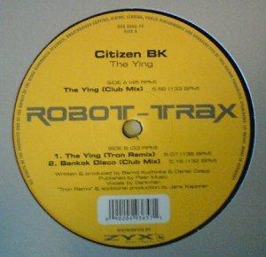 Citizen BK - The Ying (12'')
