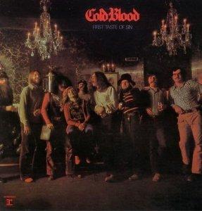 Cold Blood - First Taste Of Sin (CD)