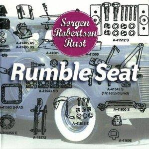 Sorgen, Robertson, Rust - Rumble Seat (CD)