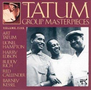 Art Tatum / Lionel Hampton / Harry Edison / Buddy Rich / Red Callender / Barney Kessel - The Tatum Group Masterpieces, Vol. 5 (CD)