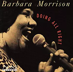 Barbara Morrison - Doing All Right (CD)