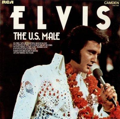 Elvis Presley - The U.S. Male (LP)