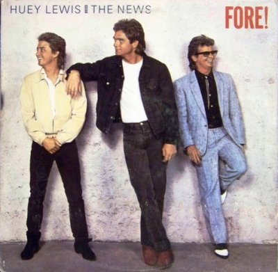 Huey Lewis And The News - Fore! (LP)