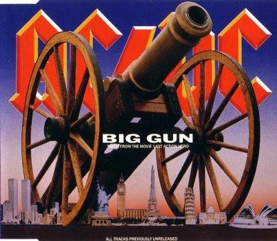 AC/DC - Big Gun (Maxi-CD)