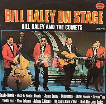 Bill Haley And His Comets - Bill Haley On Stage (LP)