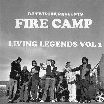 DJ Twister Presents Fire Camp - Living Legends Vol 1 (CD)
