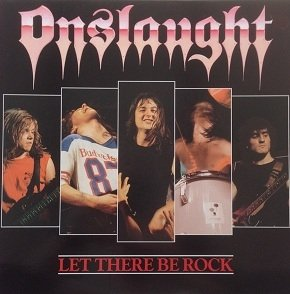 Onslaught - Let There Be Rock (12'')