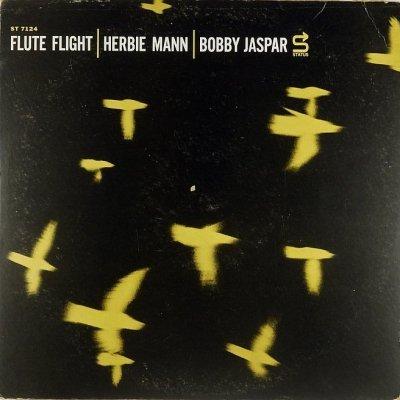 Herbie Mann / Bobby Jaspar - Flute Flight (LP)