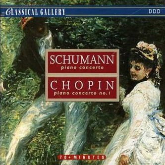 Anton Nanut / Libor Pesek - Schumann / Chopin: Piano Concerto In A Minor Op. 54 / Piano Concerto No. 1 In E Minor Op. 11 (CD)