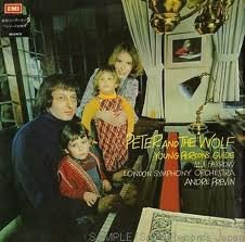 Mia Farrow / London Symphony Orchestra* / André Previn - Peter And The Wolf / Young Person's Guide (LP)