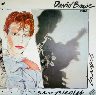 David Bowie - Scary Monsters (LP)