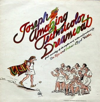 Tim Rice And Andrew Lloyd Webber - Joseph And The Amazing Technicolor Dreamcoat (LP)