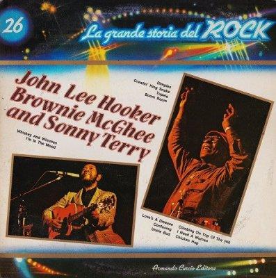John Lee Hooker / Brownie McGhee And Sonny Terry - John Lee Hooker / Brownie McGhee And Sonny Terry (LP)
