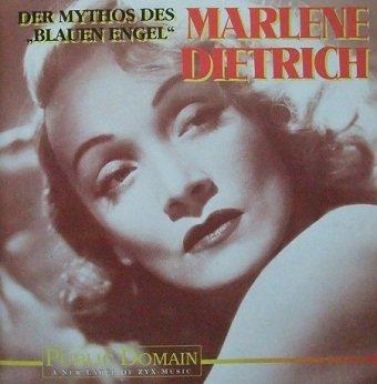 Marlene Dietrich - Der Mythos Des Blauen Engel (CD)
