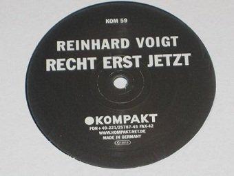 Reinhard Voigt - Recht Erst Jetzt (12'')