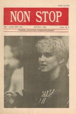 Non Stop 1 (172) Styczeń 1987 Madonna Louise Ciccone