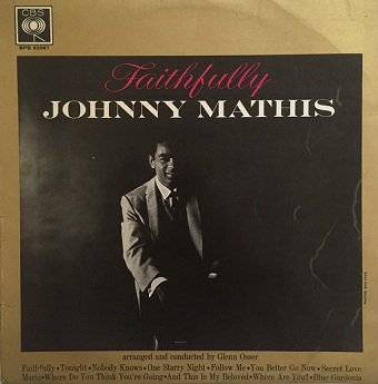 Johnny Mathis - Faithfully (LP)