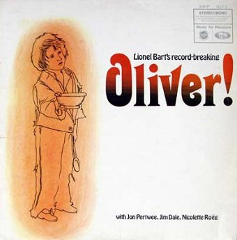 Lionel Bart With Jon Pertwee, Jim Dale, Nicolette Roeg With Geoff Love & His Orchestra - Oliver! : With Cast (LP)