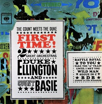 Duke Ellington And Count Basie - First Time! The Count Meets The Duke (LP)
