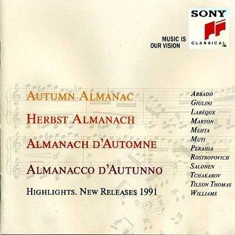Autumn Almanac. Highlights. New Releases 1991 (CD)
